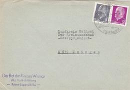 5 Briefe Aus Der DDR - DDR