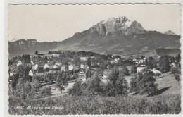 Suisse (LU) MEGGEN - 90x140 Dentelée, Glacée - Timbrée 1962 - LU Lucerne