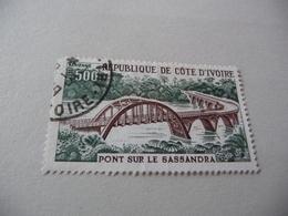 TIMBRE   COTE  D' IVOIRE   POSTE  AÉRIENNE    N  63    COTE  3,80  EUROS  OBLITÉRÉ - Costa D'Avorio (1960-...)