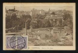 Luxemburgo. *Grund Et Ville Haute* Ed. Nels. Circulada 1927. - Luxemburgo - Ciudad