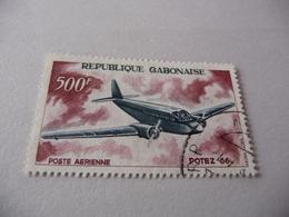 TIMBRE   GABON   POSTE  AÉRIENNE        N  54    COTE  5,20  EUROS  OBLITÉRÉ - Gabon (1960-...)