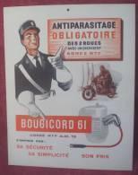 "Publicité Carton ""BOUGICORD 61"". - Plaques En Carton"