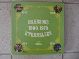 Coffret De 11 Disques 33 T 120 Chansons Françaises Chansons Eternelles De 1900 à 1970 - Collector's Editions