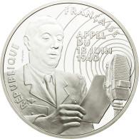 Monnaie, France, Général De Gaulle, 100 Francs, 1994, ESSAI, FDC, Argent - Francia