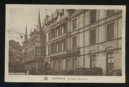 Luxemburgo. *Le Palais Grand-Ducal* Ed. Nels. Escrita. - Luxemburgo - Ciudad