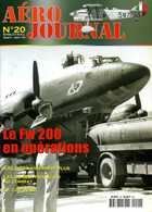 Aéro Journal N° 20 : Junker JU 88 Français, Focke Wulf FW 200, RAF 122 Wing, Vol KAL 007  (aviation Militaire) - Français
