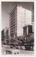 Melbourne Australia, Hotel Australia Collins Street Scene, C1950s Vintage Rose #1777 Real Photo Postcard - Melbourne