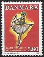 Denmark, 1986, Ballet, Set, MNH, Mi# 885 - Danemark