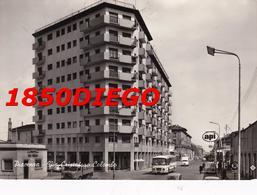 PIACENZA - VIA CRISTOFORO COLOMBO F/GRANDE VIAGGIATA ANIMATA CORRIERA BENZINAIO - Piacenza