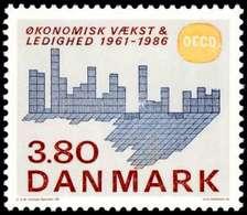Denmark, 1986, OECD, Set, MNH, Mi# 887 - Danemark