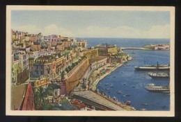 Malta. Valletta. *General View Of Valletta* Nueva. - Malta