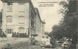 23 - SAINTE FEYRE - Sanatorium Coté Ouest 1917 - Other Municipalities