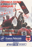 STADE TOULOUSAIN   Avec France Telecom - Rugby