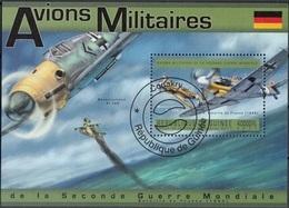 Guinea 2011 Bf.  Bataille De France Avions Militaires Aviazione Sheet Perf. CTO Guinee - Guinea (1958-...)