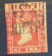 INDIA - 1854 Victoria 1 Anna - 1854 Compagnie Des Indes