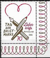 2016 Allem. Fed. Deutschland  Mi. 3259**MNH  EUR Tag Der Briefmarke: Liebesbriefe. - Unused Stamps