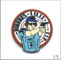 Pin's Institutions - Douanes / Club De Tir De Lille (59). Estampillé Ballard. Zamac. T619-15 - Militaria