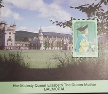 L) 1990 GRENADINES OF ST. VINCENT, HER MAJESTY QUEEN ELIZABETH THE QUEEN MOTHER BALMORAL, 90 GLORIOUS YEARS, ARCHITECTUR - St.Vincent & Grenadines