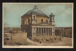 Mosta. *The Dome Of Mosta* Ed. Photochrom Co. Ltd. Nº 83114. Nueva. - Malta