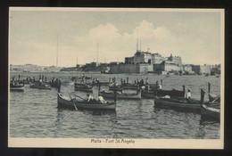 Birgu. *Fort St. Angelo* Nueva. - Malta