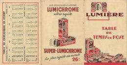 °°°   PUB  LUMICHROME TEMPS DE POSE      °°°  ///  REF OCT.18  N° 7566 - Advertising
