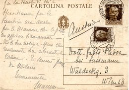 ITALIA CARTOLINA POSTALE - Italia