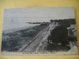 44 4275 CPA - 44 ST BREVIN L'OCEAN - PANORAMA DE LA PLAGE DU CASINO AU POINTEAU - A DROITE, LE CHALET LES TAMARIS - Saint-Brevin-l'Océan