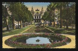 Monte-Carlo. *Les Jardins Du Casino* Ed. Munier Nº 115. Circulada 1951. - Casino