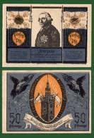 B-36205 STRIEGAU Germany 1921. Local Banknote-notgeld 50 Pf. - [11] Emissions Locales