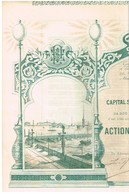 Action Ancienne - Eclairage Electrique St-Pétersbourg - Titre De 1897 N°05620 - Déco - Rusia