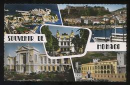 *Souvenir De Monaco* Ed. E. P. M. Nº 1677. Circulada 1957. - Mónaco