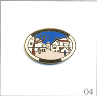 Pin's Tourisme - Perrignier (74) / Les Amis Du Vieux Brecorens. Estampillé Pin's Folie. Zamac Fin. T620-04 - Ciudades