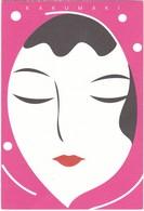 D386 ART BY KUSANAGI DESIGN OFFICE - JAPON - KAKUMAKI - TÊTE DE FEMME - Hedendaags (vanaf 1950)