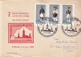 Postal History Cover: Germany / DDR Stamps On Cover - Costumes
