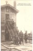 GRÈVE DES CHEMINS DE FER (octobre 1910) - Poste D'aiguillage Occupé Militairement - Trains