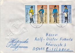 Postal History Cover: Germany / DDR  Full Set On Cover - Post
