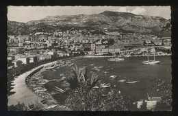*Le Port. Vue Vers Monte-Carlo* Ed. La Cigogne Nº 99.148.31. Circulada 1954. - Palacio Del Príncipe