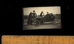 Photographie :  Automobile Voiture Auto Genre Torpédo  1924 à MONTROND LES BAINS - Automobiles