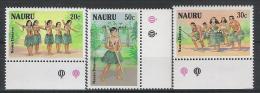 Nauru N° YVERT 329/31  NEUF ** - Nauru