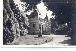 CPA QUIMPER -parc Du Théâtre Municipal - Quimper