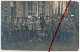 Original Foto - Aarschot Aerschot - Juni 1915 - Deutsche Soldaten - Stempel Landsturm Bataillon Coesfeld - Aarschot