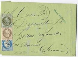 E4-Chantilly  Oise - 1863-1870 Napoleon III With Laurels