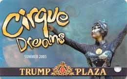 Trump Plaza Casino - Atlantic City NJ - BLANK Slot Card - Casino Cards