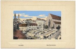 Basel Barfüsserplatz - Early Unused - BS Basel-Stadt