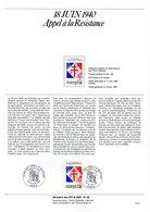 """"""" GENERAL DE GAULLE """" SIGNE Sur Document A4 1er Jour De 1990 (par H. SAINSON Dessinatrice) N° YT 2656. Parfait état - De Gaulle (General)"""
