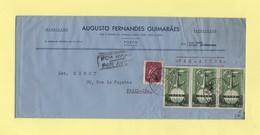 Portugal - S. Bento - 1952 - Par Avion Destination France - Lettres & Documents