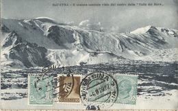 _5pk-707: SULLL'ETNA:- Il Cratere Centrale Visato Dal .. > Anvers Belgien 1929 - Catania