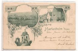 Marlenheim   - Gruss Aus -  CPA ° - France