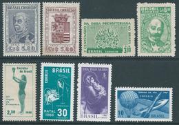 Brazil Brazile 1953 / 1959 / 1966 / 1967 - Mix Not Used - Brazil
