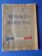E13- Message Du Maréchal  1941 - Boeken, Tijdschriften, Stripverhalen